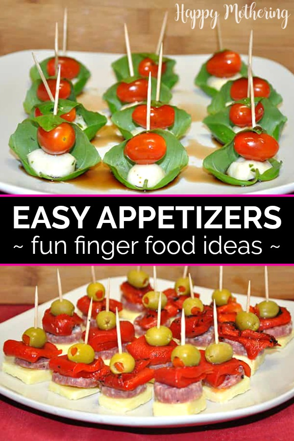easy party snack ideas healthy easyappetizers choosesmart shop easy appetizers caprese and antipasto skewers happy mothering