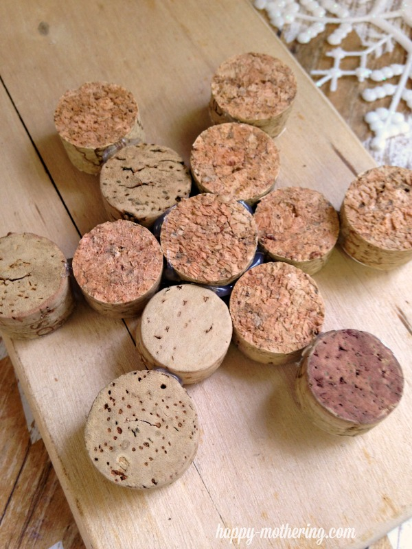 wine-cork-snowflake-ornament-process-2