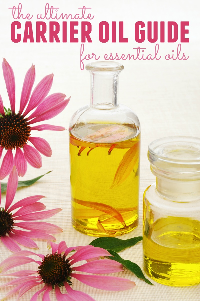 "If you're new to essential oils, you may wonder what ""carrier oil"" means. We'll talk about what carrier oils are, how to use them and the best ones."