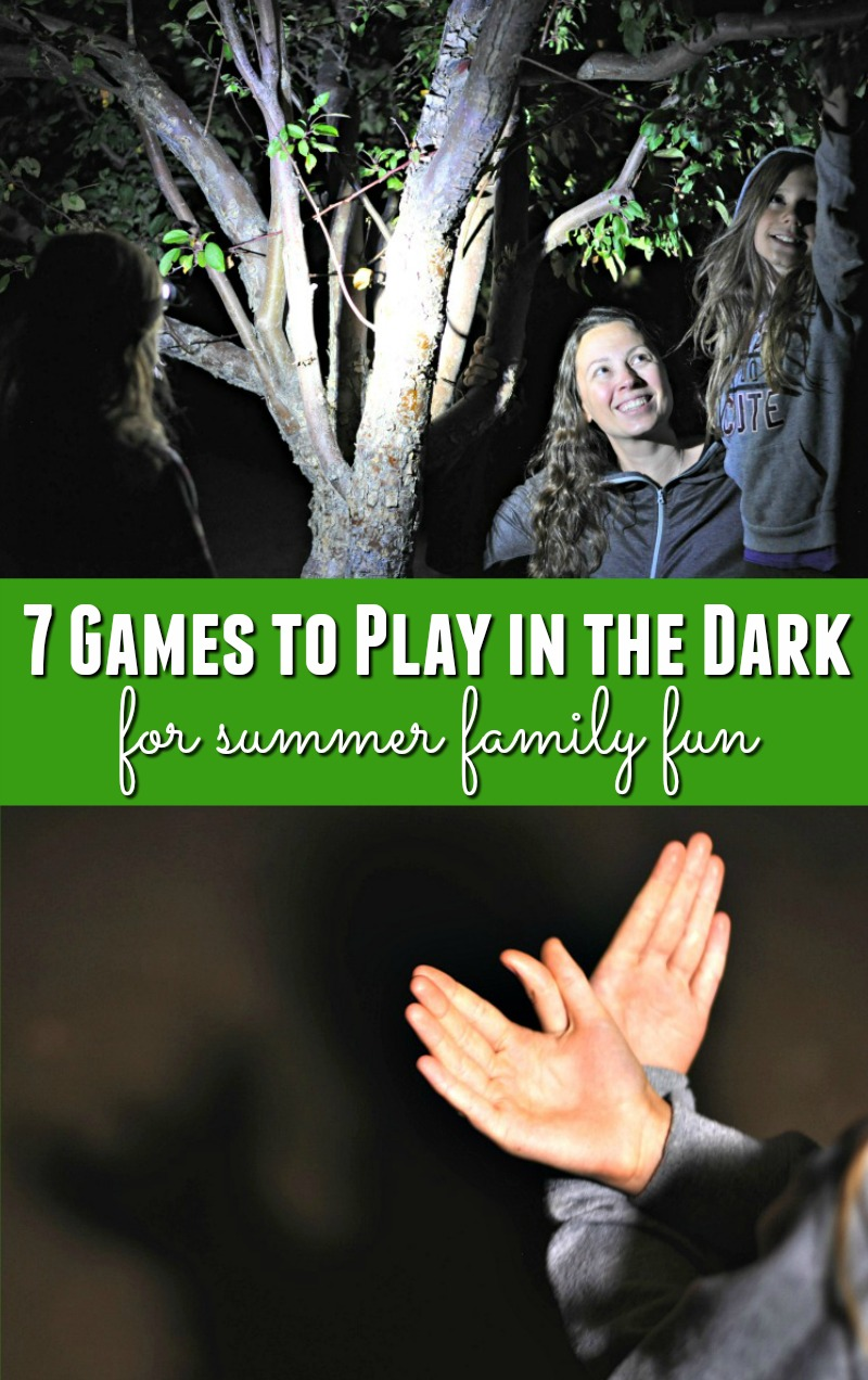 Are you looking for some amazing ideas for summer family fun? Check out this list of 7 games to play in the dark - your family will love them all!
