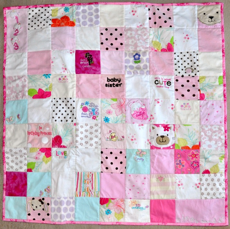 Have you ever thought about making a memory quilt from your child's baby clothes? We'll show how we stopped putting it off and got our memory quilts made!