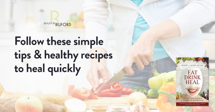 Good nutrition and optimal healing are inseparable. What you eat before AND after surgery can make all the difference. Acclaimed surgeon Dr. Gregory A. Buford explains why…