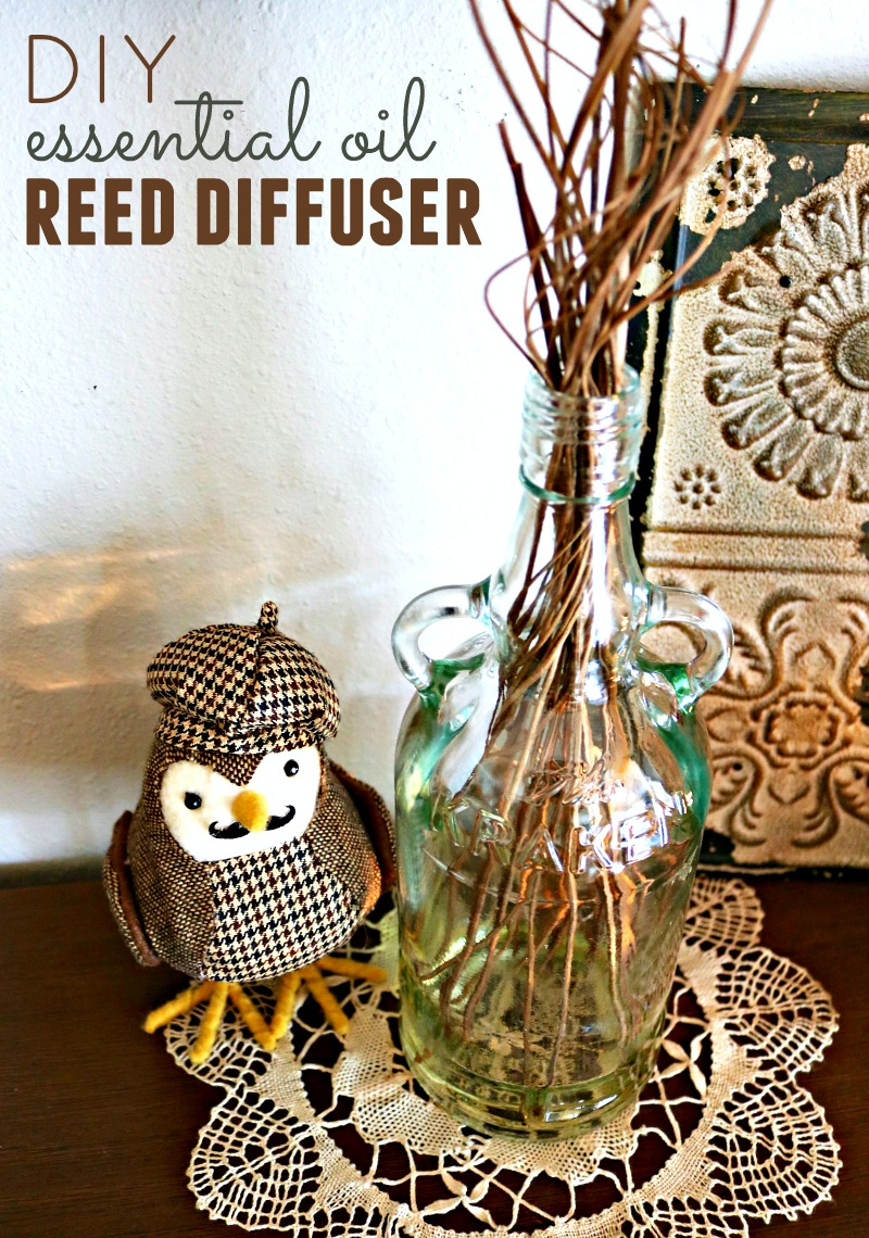 Reed diffusers add a special touch to any decor, but they can be quite pricey and full of toxic ingredients. I'll show you how to make your own DIY essential oil reed diffuser with a few simple supplies.