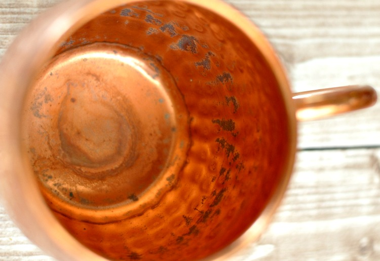 Did you invest in a set of copper mugs, but now you have no idea how to clean them? I'll show you how to clean copper mugs them with 2 natural ingredients.