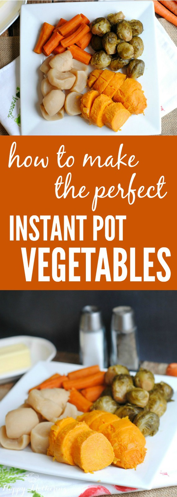 Are you looking for ideas on how to get dinner on the table fast? We'll show you how to make the perfect Instant Pot vegetables in just a few minutes.